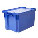 Контейнер д/хранения 75 л синий