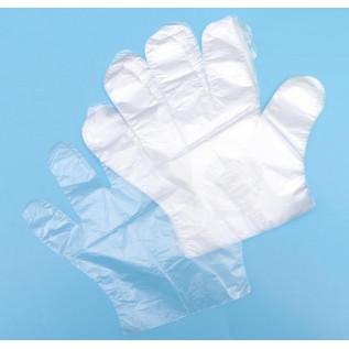 Перчатки полиэтиленовые одноразовые М, L (50 пар/упак)